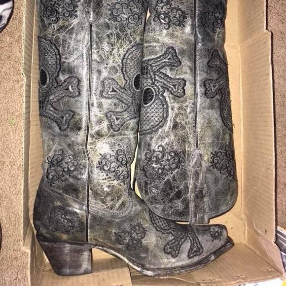 06bbd61a1e7 Skull Cowboy Boots (Discontinued)